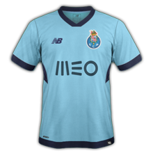 FC Porto 2018 troisième maillot third 17 18