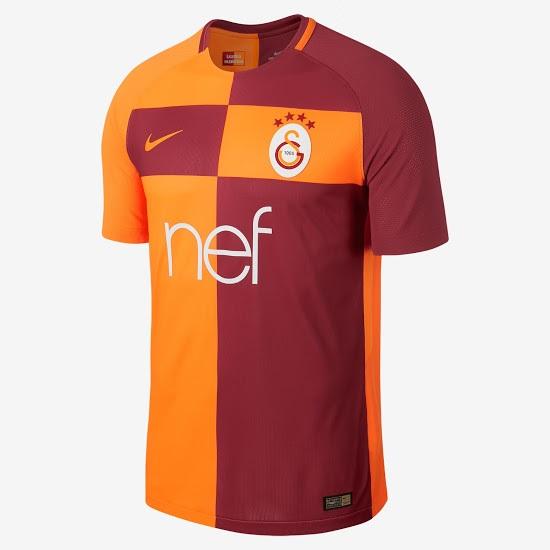 Galatasaray 2018 maillot de football domicile 17 18