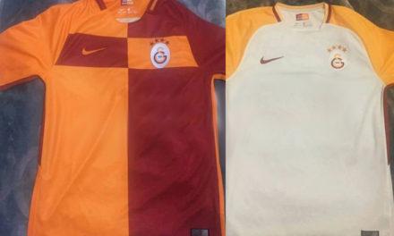Les nouveaux maillots de foot Galatasaray 2018