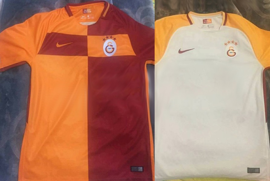 Galatasaray 2018 maillots de football 2017 2018 Nike