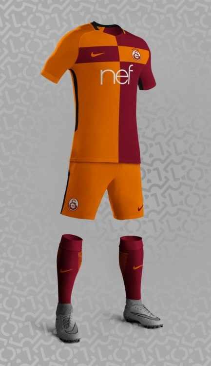 Galatasaray 2018 possible maillot domicile foot Nike