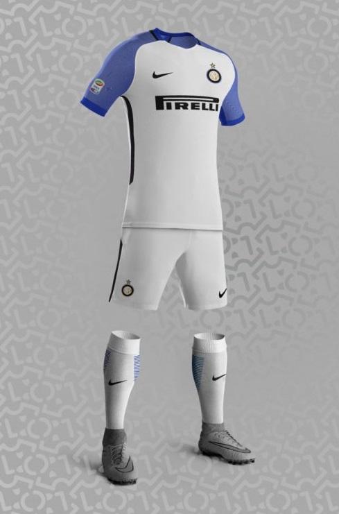 Inter Milan 2018 maillot extérieur supposition