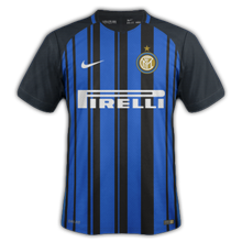 Inter Milan 2018 maillot football 17 18 domicile