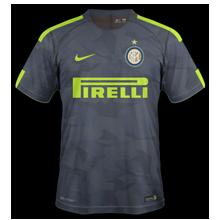 Inter Milan 2018 maillot third 17 18 Nike