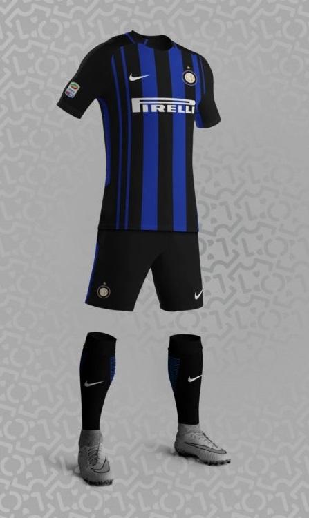 Inter Milan 2018 probable maillot 2017 2018