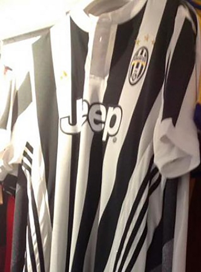 Juventus 2017 2018 maillot domicile