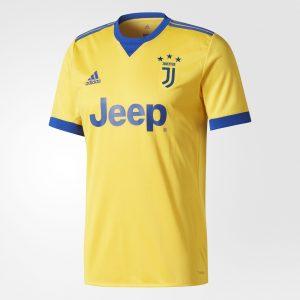 Juventus 2018 maillot de foot exterieur jaune