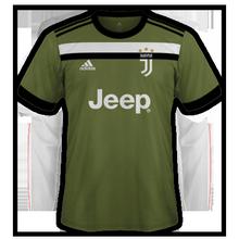 Juventus 2018 troisième maillot third 17 18