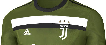 Juventus 2018 troisieme maillot de football