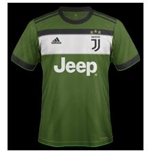 Juventus 2018 troisieme maillot third 17 18 Adidas