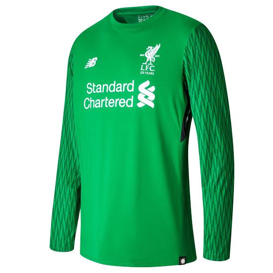 Liverpool 2018 maillot de gardien vert