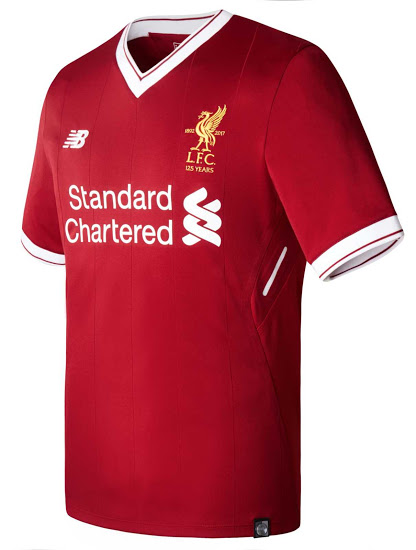 Liverpool 2018 maillot domicile 17 18 New Balance