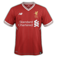 Liverpool 2018 maillot domicile football 17 18