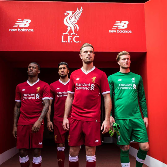 Liverpool 2018 maillot domicile officiel
