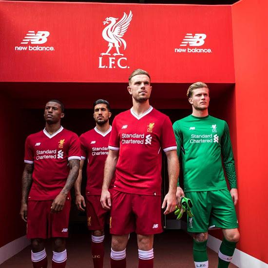 Liverpool 2018 maillot domicile officiel