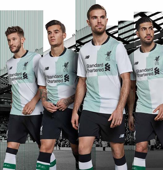 Liverpool 2018 maillot foot extérieur officiel