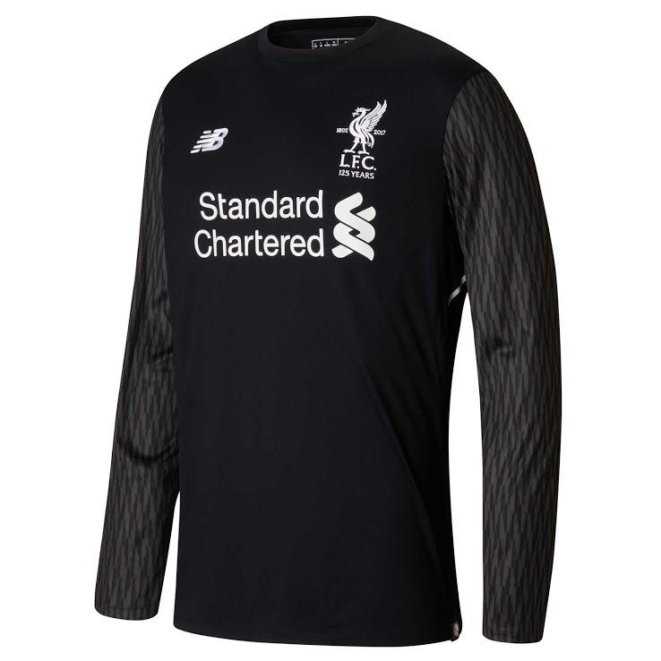 Liverpool 2018 maillot gardien noir extérieur