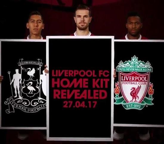 Liverpool 2018 presentation du maillot de football
