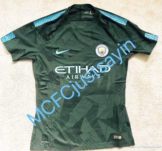 Manchester City 2018 fuite maillot third 17 18