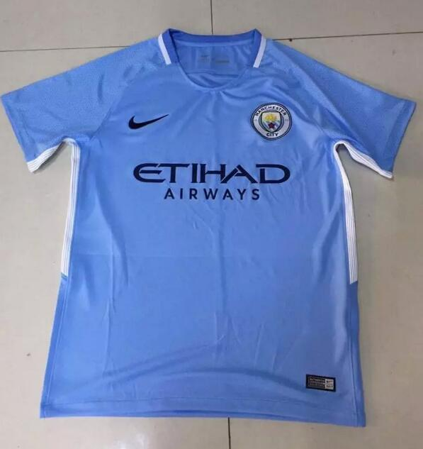 Manchester City 2018 maillot de football domicile