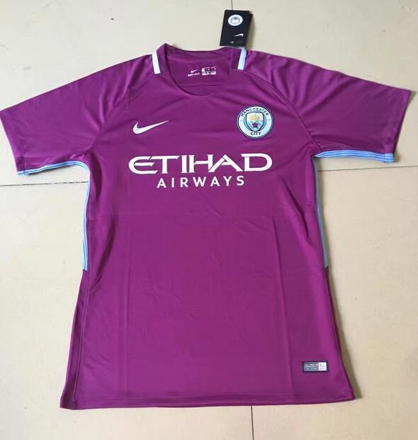 Manchester City 2018 maillot extérieur 2017 2018 Nike