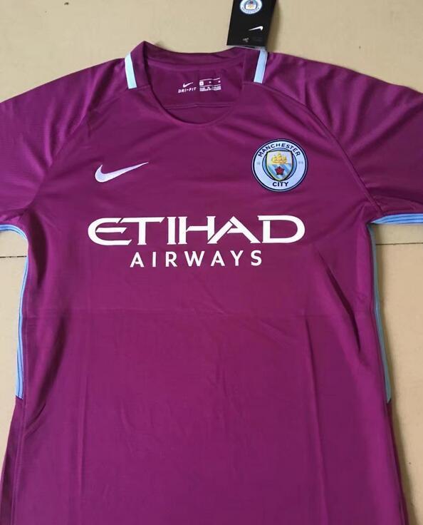 Manchester City 2018 maillot extérieur violet
