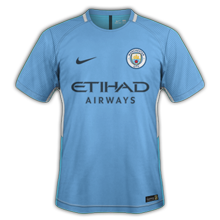 Manchester City 2018 maillot foot domicile 2017 2018