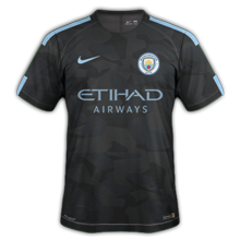 Manchester City 2018 maillot third foot