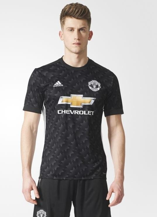 Manchester united 2018 les nouveaux maillots 17 18 en for Manchester united exterieur 2017