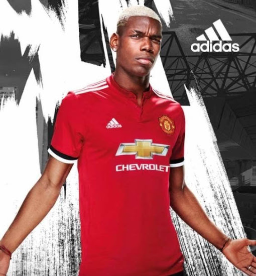 Manchester United 2018 maillot de foot domicile Paul Pogba