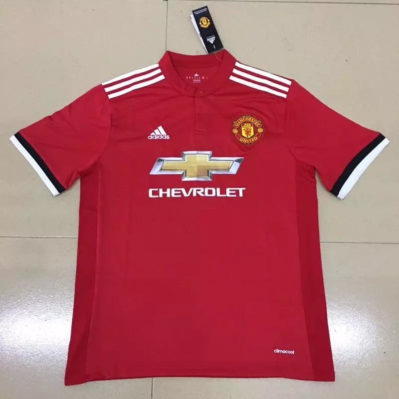 manchester united 2018 les nouveaux maillots 17 18 en. Black Bedroom Furniture Sets. Home Design Ideas