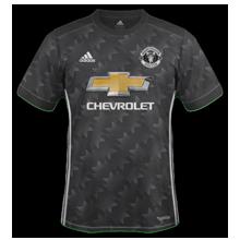 Manchester United 2018 maillot extérieur noir