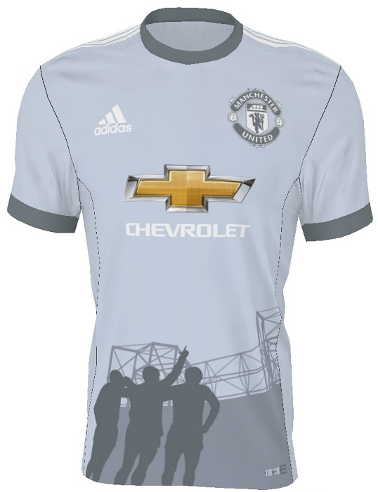 manchester united 2018 maillot third 2017 2018 adidas. Black Bedroom Furniture Sets. Home Design Ideas