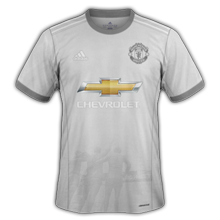 Manchester United 2018 maillot third Adidas gris