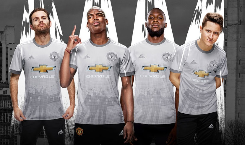 Manchester United 2018 maillot third officiel Adidas