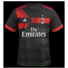 Milan 2018 troisieme maillot third 17 18
