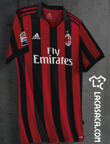 Milan AC 2018 possible maillot domicile