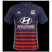 OL 2018 maillot extérieur Olympique Lyonnais 2017 2018