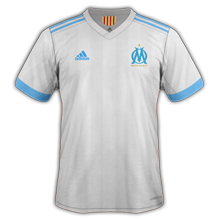 OM 2018 maillot foot domicile Marseille 2017 2018