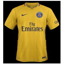 PSG 2018 maillot de foot exterieur Paris