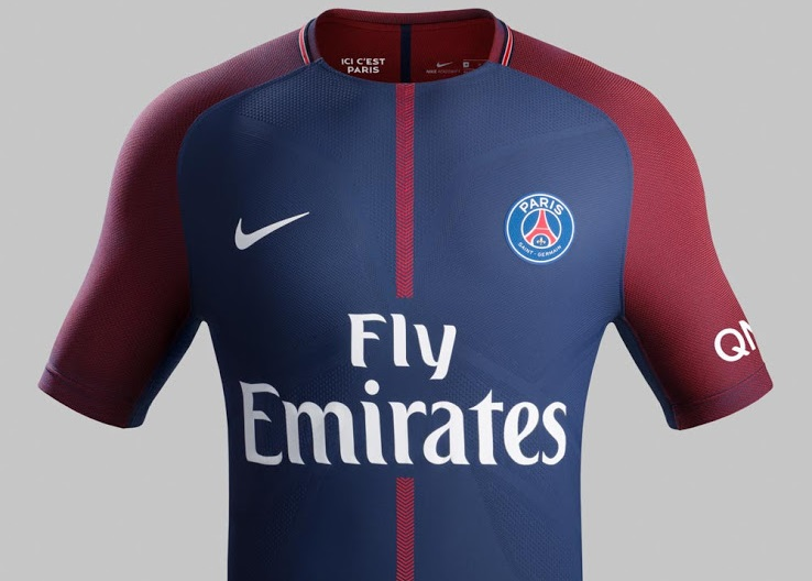 PSG 2018 maillot domicile Paris Saint Germain 17 18