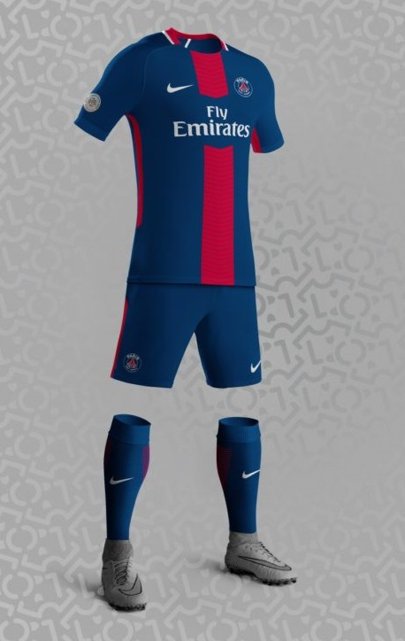 PSG 2018 maillot domicile possible Nike