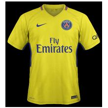 PSG 2018 maillot extérieur Paris 17 18