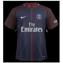 PSG 2018 maillot foot domicile Paris 17 18