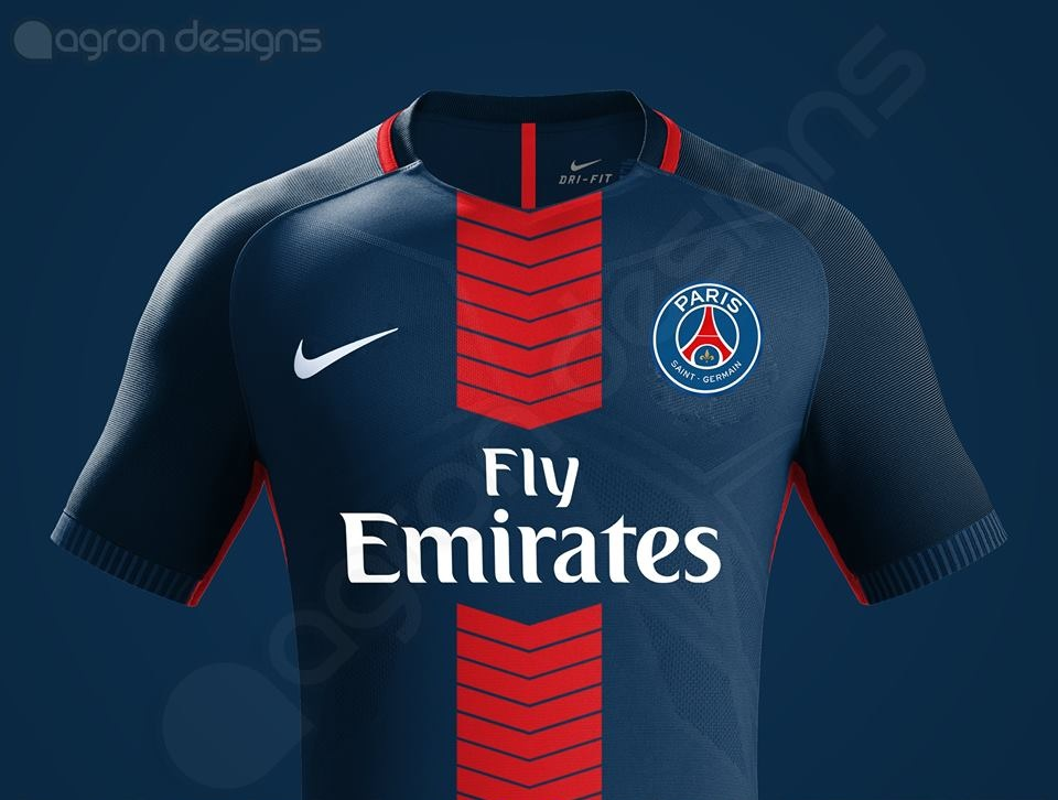 Paris saint germain 2018 maillot domicile psg 2017 2018 for Psg exterieur 2018