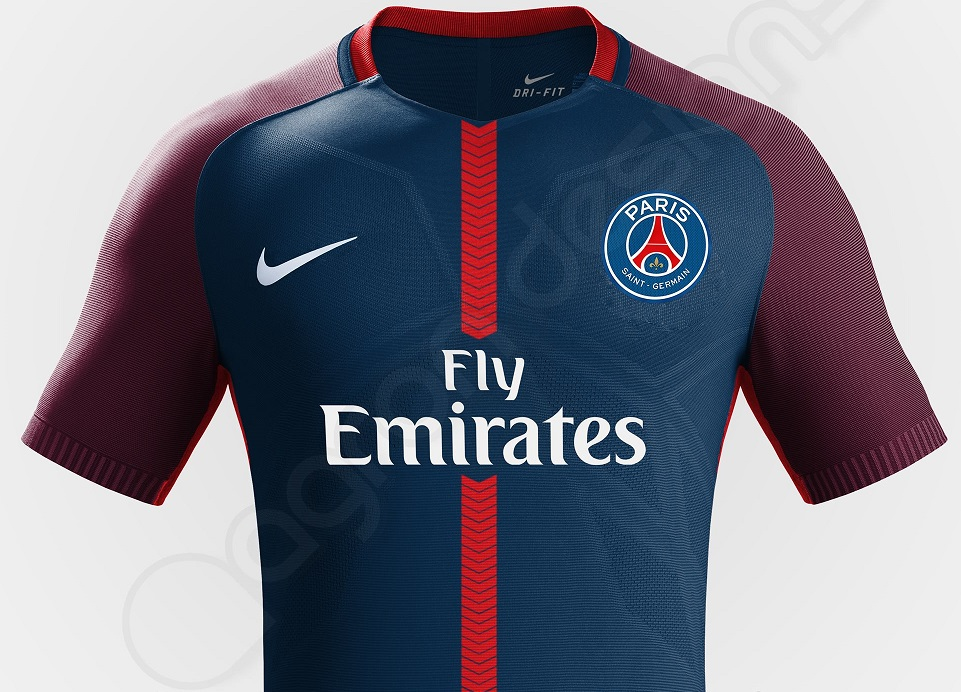 Paris saint germain 2018 maillots de foot psg 2017 2018 for Psg exterieur 2018