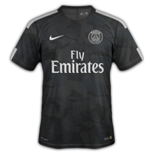 PSG 2018 troisieme maillot third 17 18 Paris Saint Germain