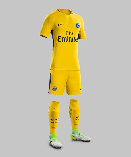 Paris 2018 maillot exterieur football Nike 17 18 officiel