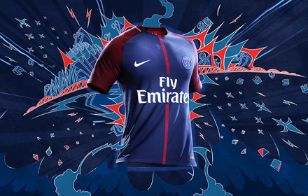 Paris Saint Germain 2018 maillot de football officiel