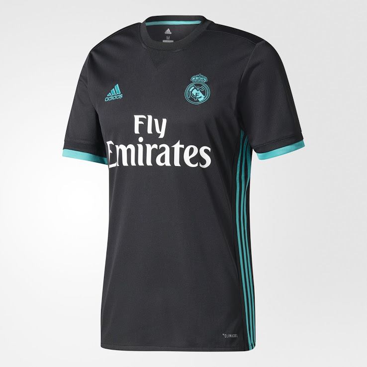 Real Madrid 2017 2018 maillot exterieur foot officiel Adidas